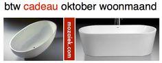 actie ondersteund door mijn leverancier! | vrijstaande baden | btw kado oktober woonmaand 2013 | mozaiek utrecht