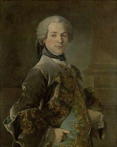 Portrait of Isaac van Rijneveld, Louis Tocqué, 1738