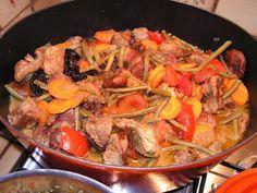 recette Tajine aux 3 viandes Raisin Sec, Bacon, Kitchens, Green Beans, Africa, Dish, Kochen, Pork Belly