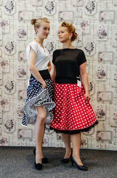 50er Jahre Röcke Handmade Germany von klennes