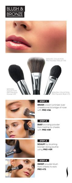 cheek make-up tutorial