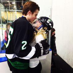 I know it's hockey, but with my lacrosse boyfriend