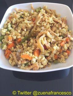 Le ricette di Nonna Anna: Salada de cevada legumes atum e berinjela