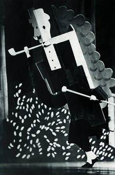 """Picasso: sets for Erik Satie and Jean Cocteau's """"Parade"""" (1917)"""