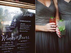 wedding drinks - photo by Feather Love Events http://ruffledblog.com/southern-plantation-wedding-in-charleston