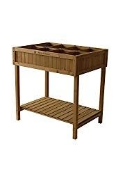 Get your hands on this sturdy herb planter made of durable cedar wood & create both practical & attractive plant displays of herbs. Ideal for a small garden patio or balcony. This easy-to-assemble pl. Hydroponic Gardening, Hydroponics, Container Gardening, Gardening Tips, Urban Gardening, Cedar Planters, Herb Planters, Planter Garden, Planter Ideas