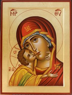 Religious Icons, Religious Art, Holly Pictures, Jesus Mary And Joseph, Blessed Mother Mary, Byzantine Icons, Biblical Art, Madonna And Child, Light Of The World