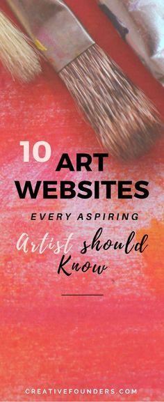 10 Art Websites Every Aspiring Artist Should Know