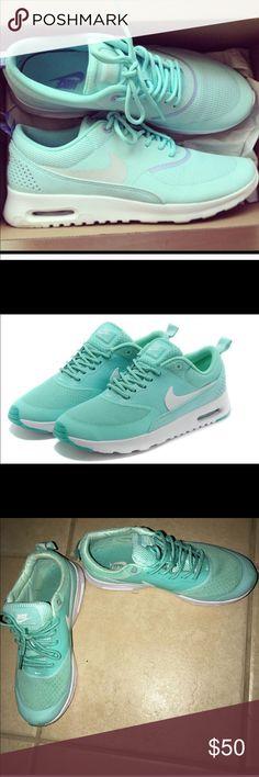 Tiffany Blue Mint Nike Thea Size 8