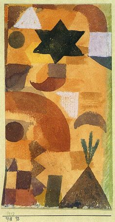Egypt by Paul Klee,