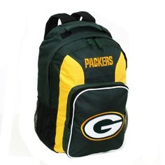 NFL Green Bay Packers Southpaw Backpack, Hunter Green, Medium by Concept 1. $20.99