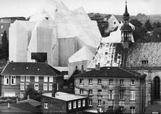 gottfried böhm - pilgrimage church, neviges, germany, 1965-68