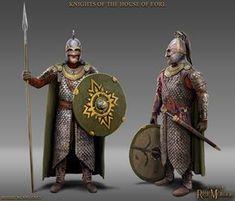 Knights of the House of Eorl, Robbie McSweeney on ArtStation at https://www.artstation.com/artwork/1ra5e