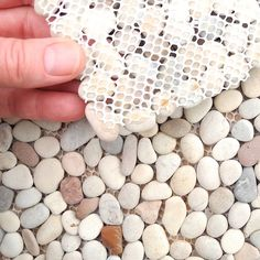 Mini garden Patio - Miniature Garden Patio Stone Sheet for Fast and Easy Mini or Fairy Garden Patio, Mini Pathway, Pavers, Pretty Pastel Colors Mosaic Stone. Large Pavers, Brick Patios, Patio Stone, Pathway Stone, Pebble Patio, Do It Yourself Furniture, Sloped Garden, Backyard Playground, Garden Stones