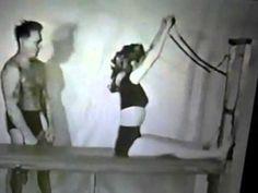 Video: Joseph Pilates instructing young Romana Kryzanowska. #pilates #Kryzanowska #video