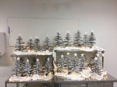 Christmas Crafts, Christmas Tree, Holiday Decor, Home Decor, Art, Teal Christmas Tree, Art Background, Decoration Home, Room Decor