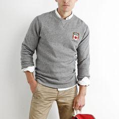 Men's Canada Fleece Crew | Men's Tops Sweatshirts and Hoodies | Roots