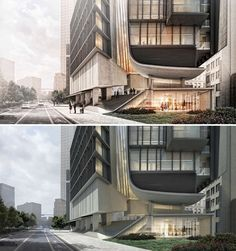 The Art of Rendering: Turn Your Architectural Visualization from Day to Night Using Nothing but Photoshop - Architizer