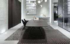 The Manta table by Rimadesio from Pure Interiors.: Pure Interiors, Interiors Modern, Milan Furniture, Furniture Rimadesio