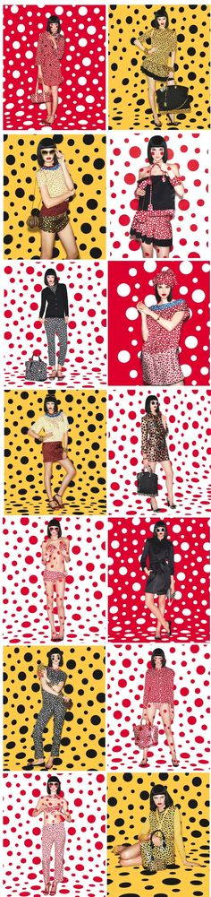 YAYOI KUSAMA FOR LOUIS VUITTON 'INFINITELY KUSAMA'