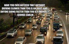 Traffic with George Carlin
