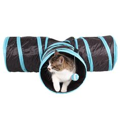 Beautylife66 Pet Cat Tunnel Collapsible 3 Ways Kitten Play Toys Fun Toys ** Check this useful article by going to the link at the image. #CatToys