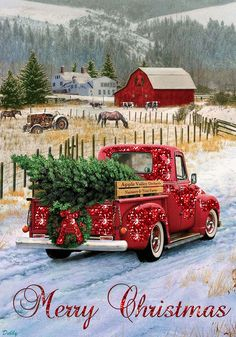 I'm driving home for christmas.... I added some glitter to this lovely picture. DF