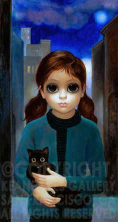Hand-signed and Numbered Limited Edition Print on Canvas 30 x 16 in. x cm) Edition of 300 Magaret Keane Big Eyes Margaret Keane, Keane Big Eyes, Margareth Keane, Big Eyes Movie, Keane Artist, Big Eyes Paintings, Big Eyes Artist, Eye Art, Art Plastique