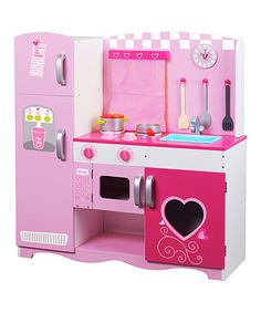 Another great find on #zulily! Pink Classic Kitchen Play Set #zulilyfinds