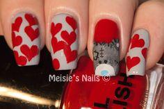 Meisies Nails: A Years Challenge - Week 7: Valentines Day mani