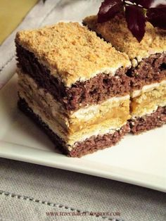 Sweet Recipes, Cake Recipes, Dessert Recipes, Recipe Sheets, Cool Birthday Cakes, Polish Recipes, Good Food, Food And Drink, Cooking Recipes