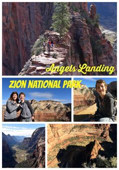 Angels Landing in Zi