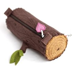 $34.00 Pencil Pouch Log from hitree