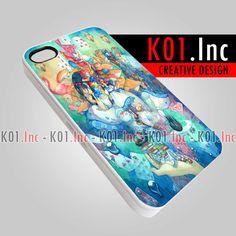 Alice In Wonderland Design iPhone 4/4s/5 Case Samsung by K01Inc, $15.50