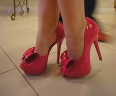 """To Damn cute. These are """"eff Mr type of heels"""" (:"""