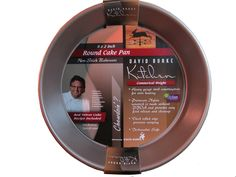 Commercial Weight Round 9x 2 Cake Pan: David Burke Kitchen: Non-Stick Bakeware ** You can get additional details at : Baking pans