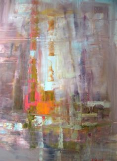 Carol Sneed is a local artist from Jackson, MS. I love love love her abstracts