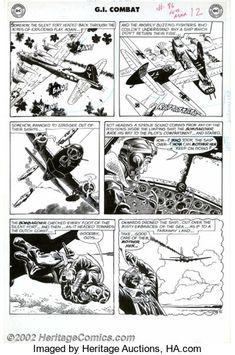 Comic Books Art, Comic Art, War Comics, Real Life, Nostalgia, Original Art, The Originals, Planes, Comics