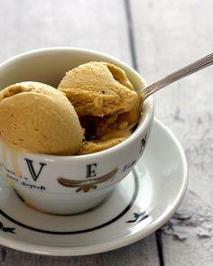 coffee ice cream | a cup of mascarpone