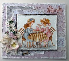 Tina Venke, Stampavie, Card, Distress Ink