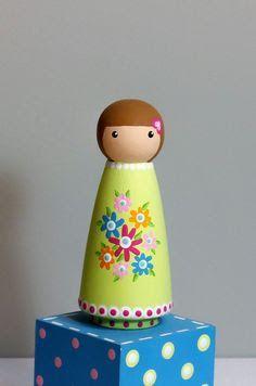 Resultado de imagem para como fazer roúpa peg dolls?