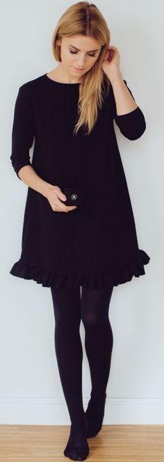 Classic Little Black Dress Fall Inspo by Make Life Easier