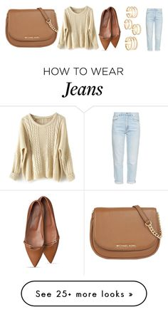 """Untitled #1975"" by misnik on Polyvore featuring mode, MiH, MICHAEL Michael Kors, women's clothing, women, female, woman, misses en juniors"
