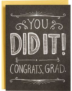 Congratulate a loved one on their college graduation, high school graduation, or other any other graduation with a Paper Source greeting card. Find funny and unique cards that express your joy for the graduate. Graduation Party Planning, College Graduation Parties, Graduation Celebration, Graduation Cards, Grad Parties, Graduation Ideas, Graduation Decorations, Holiday Decorations, Holiday Ideas