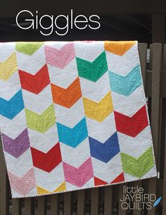 Giggles Baby Quilt | Jaybird Quilts