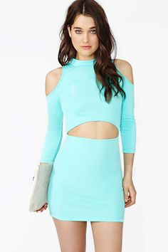 Watch And Learn Dress - Mint
