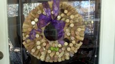 Hand made wreath for every day enlightenment.. Very cool... all wine corks from around the world...available for U..
