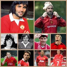 Manchester United's no. 7 since 1960's
