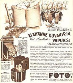 Foto Oy:n mainos/1936