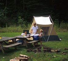 West Virginia State Parks offers pristine and family campgrounds throughout the state